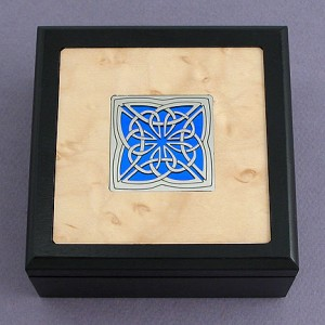irish celtic knot box