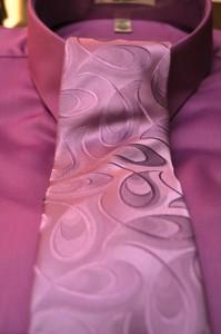 Lavender Tie & Shirt
