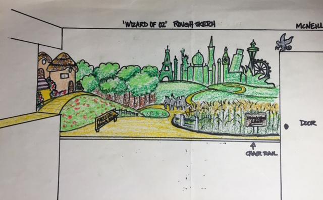Mural (sketch)